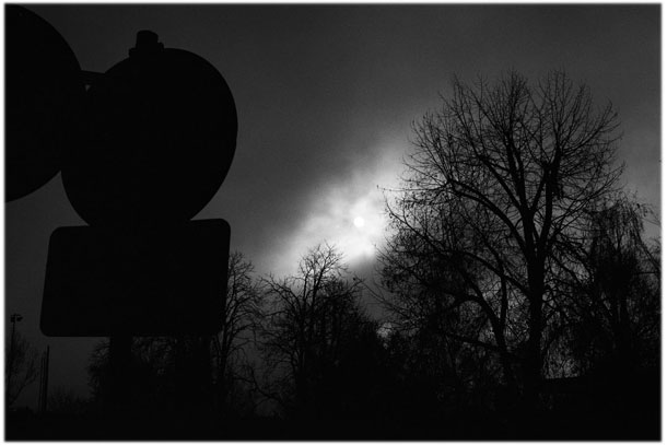 Cloudy sky Rothenburg-Germany