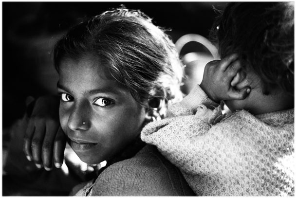 Girl, India Varanasi