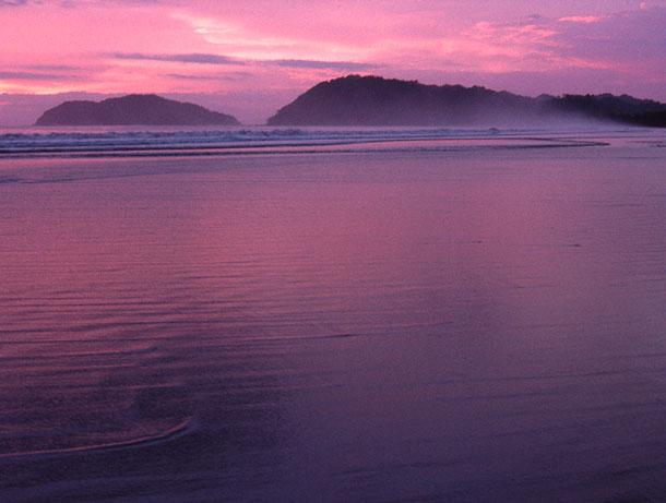 Sunset at Jaco Beach. Costa Rica