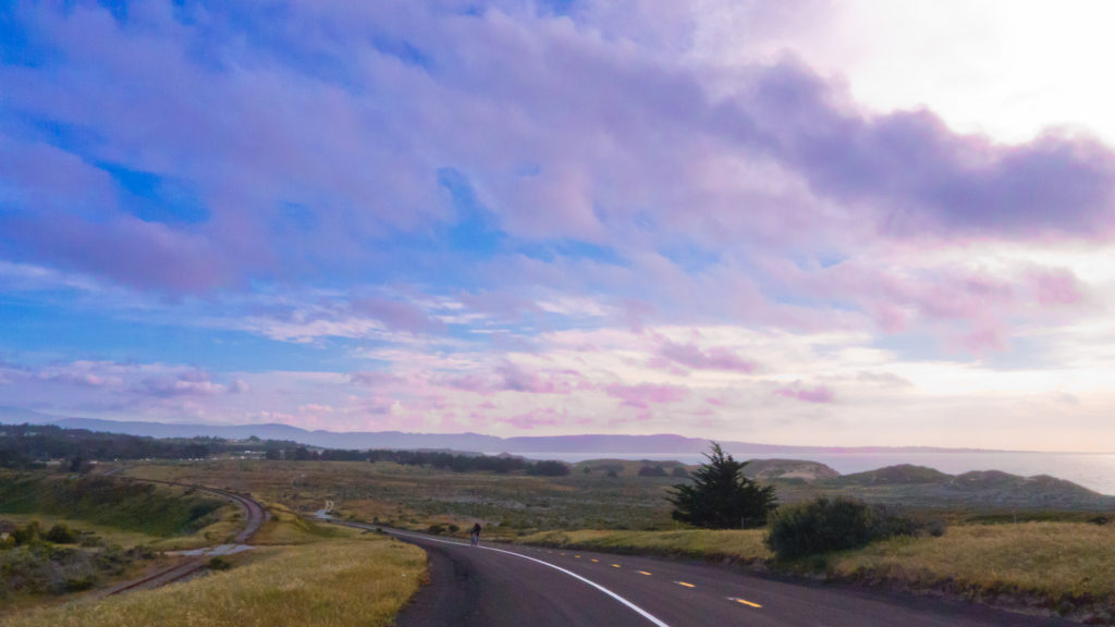 View Monterey Bay from Beach Range Road