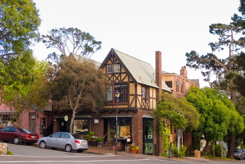 Carmel city in harmony with greenery