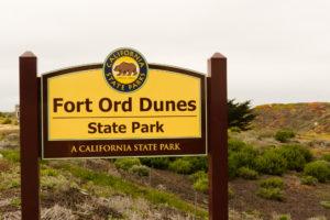 Sign, Fort Ord Dunes State Park