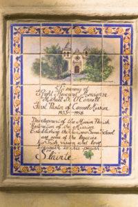 Carmel Mission Tile Art