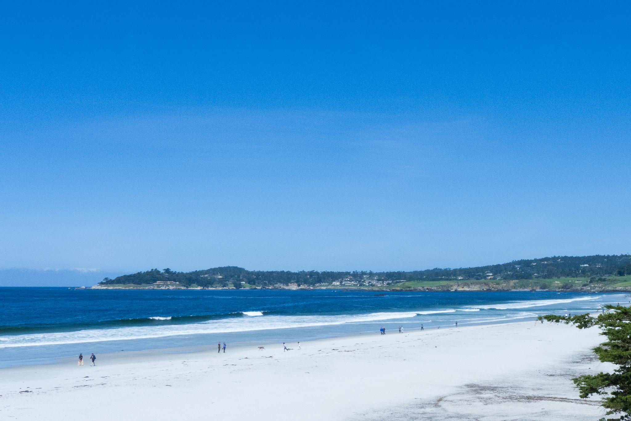 Carmel Beach, Califirnia