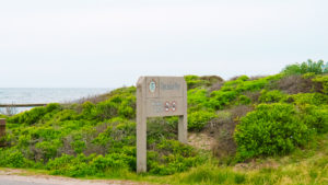 Spanish Bay Sign