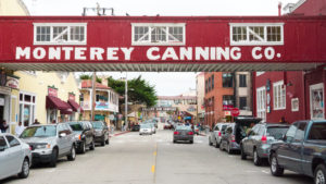 Good old Cannery Row, Monterey